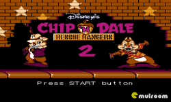 Chip and  Dale Rescue Rangers 2 screenshot 1/4