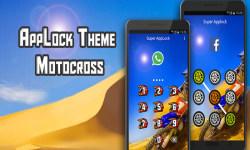 Motocross Applock Theme screenshot 1/6