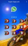 Motocross Applock Theme screenshot 3/6