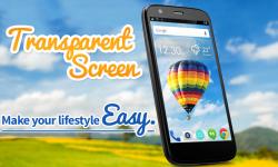 Free Transparent Screen Launcher screenshot 2/3