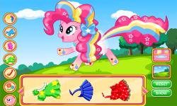 Pinkie Pie Power Style Dress Up screenshot 2/3