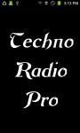 Techno Radio  Pro screenshot 1/3