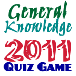 General Knowledge 2011 screenshot 1/3