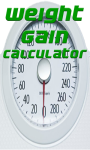 Weight Gain Calculator v-1 screenshot 1/3