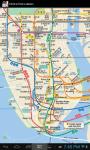 New York Subway Map and Line Status Online screenshot 1/6