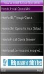 Operamini Guide screenshot 1/1