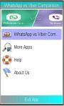 Comparing Whatsapp and Viber screenshot 1/1