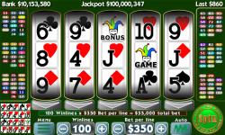 Texas Poker Slots screenshot 3/6