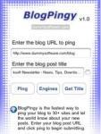BlogPingy screenshot 1/1