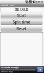 Android Timer screenshot 1/2