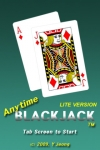 Anytime Blackjack Lite screenshot 1/1