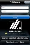 Tatra banka screenshot 1/1