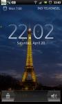 Eiffel Tower Night live Wallpaper screenshot 4/6