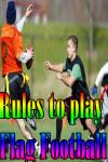 Rules to play Flag Football screenshot 1/3