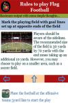 Rules to play Flag Football screenshot 3/3