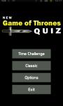New Game of Thrones Quiz screenshot 1/5