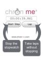ChronMe Stopwatch Chronometer screenshot 2/6