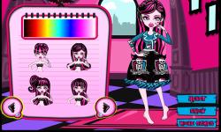 Draculaura Patchwork Dress screenshot 4/4