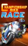 CHAMPIONSHIP BIKE RACE screenshot 1/1