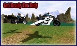 Flying Police Bike Simulator screenshot 1/3