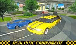 Limo Taxi Transport 3D 2016 screenshot 2/6