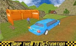Limo Taxi Transport 3D 2016 screenshot 4/6