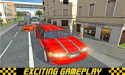 Limo Taxi Transport 3D 2016 screenshot 5/6