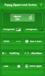 Puppy Zipper Lock Screen Free screenshot 2/6