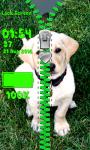 Puppy Zipper Lock Screen Free screenshot 5/6