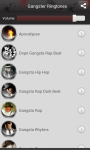 Gangster Ringtones app screenshot 1/5