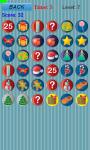 Christmas game memory kids screenshot 2/5
