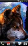 Beautiful Wolf Lwp Wave Effect  screenshot 3/5