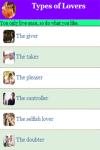 Types of Lovers screenshot 3/4
