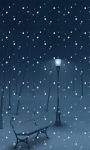 Night Snow LWP screenshot 1/3