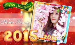 New Year 2015 Photo Frame screenshot 1/6