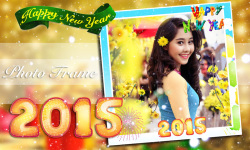 New Year 2015 Photo Frame screenshot 3/6
