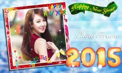 New Year 2015 Photo Frame screenshot 4/6