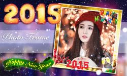 New Year 2015 Photo Frame screenshot 5/6