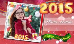 New Year 2015 Photo Frame screenshot 6/6