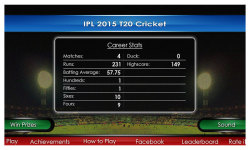 Crazy IPL 2015 screenshot 2/4