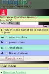 Java Interview MCQ screenshot 2/3