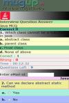 Java Interview MCQ screenshot 3/3