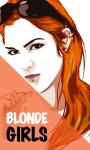 Sexy Blonde Girl screenshot 1/6