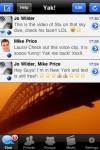 Yak Messenger - Free Text, Group, Photo, Audio ... screenshot 1/1