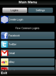 One Password screenshot 1/3