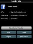 One Password screenshot 2/3