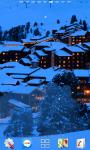 Snowfall Winter Resort Live Wallpaper screenshot 3/6