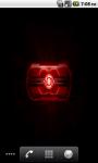 Moto Droid Laser Eye Live Wallpaper screenshot 3/3