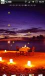 Romantic Beach Night Live Wallpaper screenshot 1/6