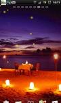 Romantic Beach Night Live Wallpaper screenshot 2/6